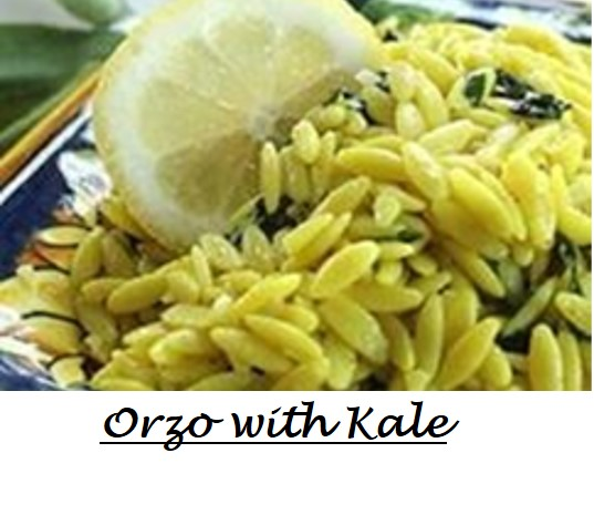Orzo with Kale